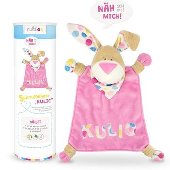 Kit couture peluche Doudou Lapin KULIO rose