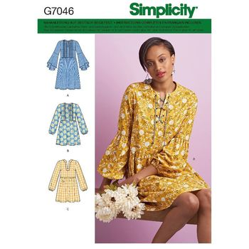 Patron Simplicity 7046 Robe & Tunique