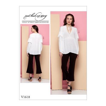 Patron Vogue 1618 Ensemble femme Tunique et Pantalon Loose