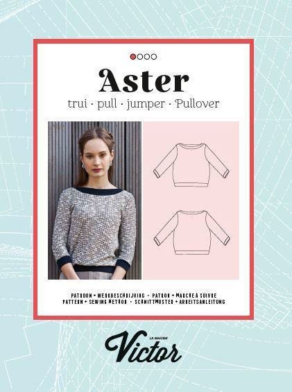 Patron Maison VICTOR Pull femme ASTER