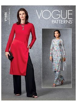 Patron VOGUE 1686 Ensemble Tunique & Pantalon