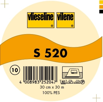 Vlieseline de décoration thermocollant S520