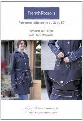 Cahier Couture Trench Rossolis