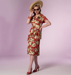Patron Butterick 6266 par Nancy Farris-Thee