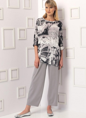 Patron Vogue 9193 Ensemble femme tunique et Pantalon
