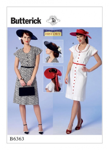 Patron Butterick 6363 par Nancy Farris-Thee
