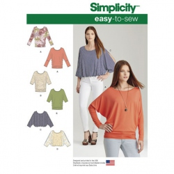 Patron Simplicity 7902 Pull femme