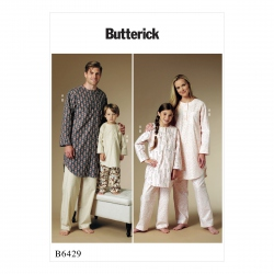 Patron Butterick 6429 Tunique et pantalon