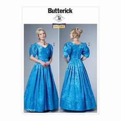 Patron Butterick 6501 par Nancy Farris-Thee