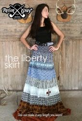 Amy Butler Liberty Skirt