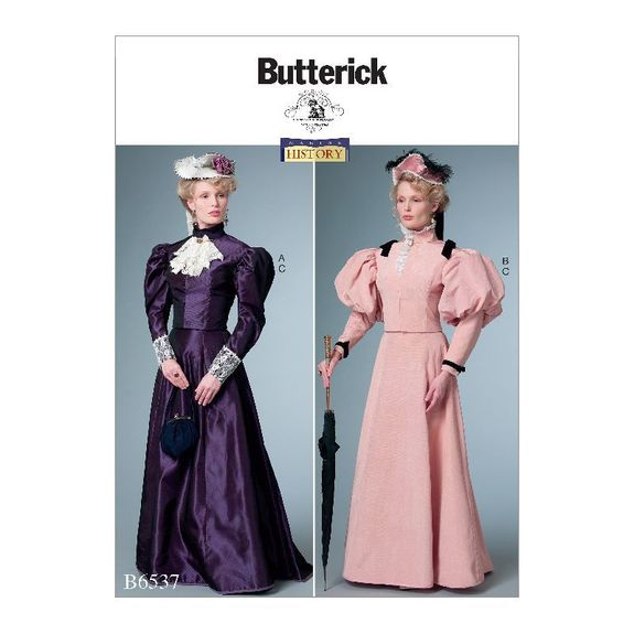 Patron Butterick 6537 par Nancy Farris-Thee