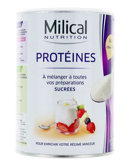 MILICAL - PROTEINES GOUT VANILLE 400G