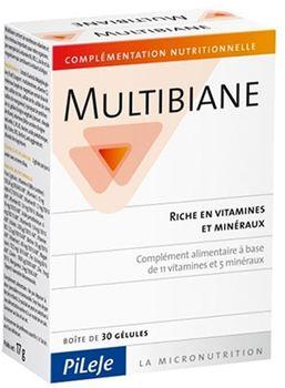 MULTIBIANE Age Protect conditionnement de 30 gélules ou 120 gélules . Disponible également en sticks orodispersibles