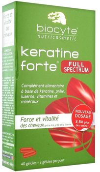 Biocyte kératine forte full spectrum