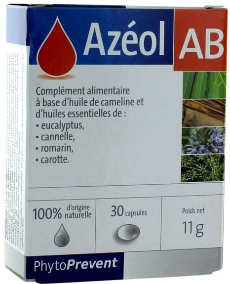 AZEOL AB . Conditionnement : 30 capsules