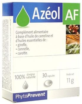 AZEOL AF : Conditionnement : 30 Capsules