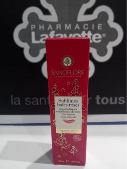 Sanoflore sublimes baies roses