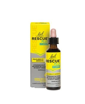 Rescue® PLUS vitamines compte-gouttes flacon de 20ml