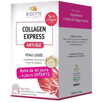 collagen express anti-âge du laboratoire biocyte