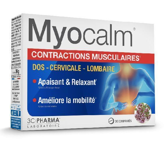 MYOCALM - CONTRACTIONS MUSCULAIRES