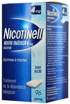Nicotinell menthe fraicheur 4mg
