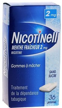 Nicotinell menthe fraiche 2mg