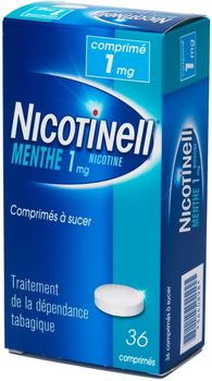Nicotinell menthe verte 1mg