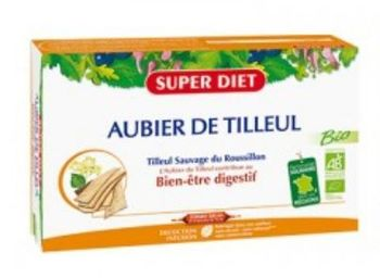Super diet : aubier de tilleul sauvage bio du Roussillon. Extraction sans alcool ni colorant.