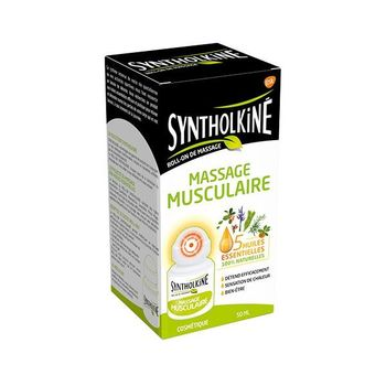 syntholkiné roll-on de massage musculaire