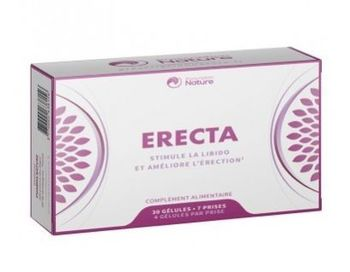 Prescription nature - ERECTA  30 gélules