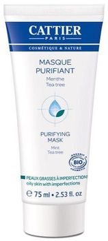 Cattier masque purifiant 75 ml
