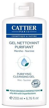 Cattier gel nettoyant purifiant 200ml