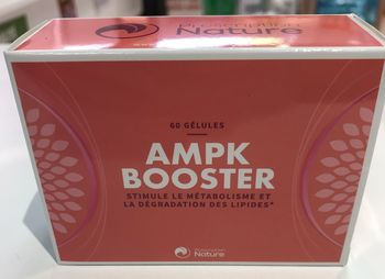 AMPK booster 60 gélules du laboratoire prescription nature