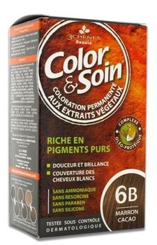 3 chênes Coloration marron Cacao ( 6B )
