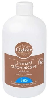 Gifrer liniment oléo-calcaire FLACON DE 500 ML
