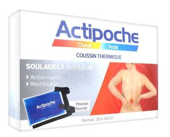Actipoche coussin thermique format 20x30