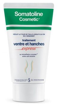 Somatoline cosmetics traitement ventre et hanches express 250 ml