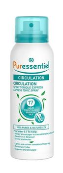 Puressentiel circulation spray tonique express flacon de 100ml