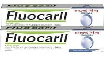 Fluorcaril bi-fluoré 145 mg gencives x2