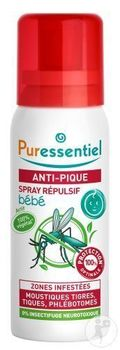 puressentiel spray répulsif anti-pique - 60ml