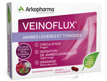 Arkopharma veinoflux circulation 30 gellules
