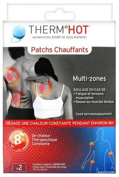 Bausch & lomb Therm Hot patchs chauffants cou/dos/épaules/poignets