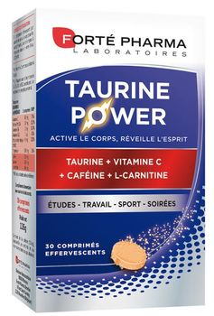Forté pharma taurine power