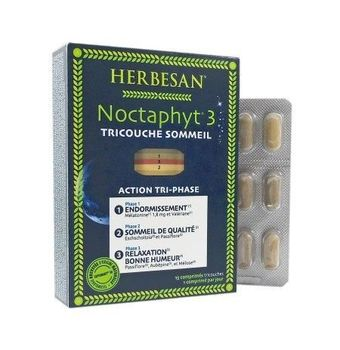 Noctaphyt 3  : action tri-phase sommeil