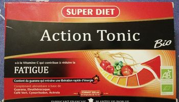 Superdiet action tonic fatigue BIO 20 ampoules de 15 ml