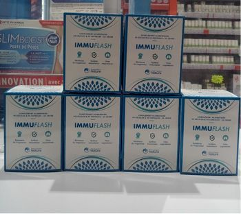 Prescription nature immuflash 45 gelules/30 capsules 15j lot de 6 boites
