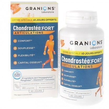 GRANIONS - CHONDROSTEO FORT 160CP
