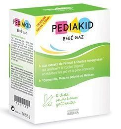 PEDIAKID - BEBE GAZ 12 STICKS A DILUER
