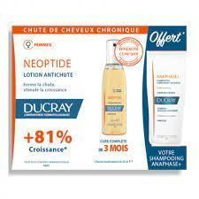 DUCRAY NEOPTIDE - LOTION ANTICHUTE + SHAMPOOING OFFERT