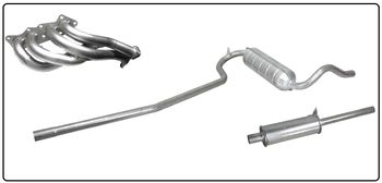 Exhaust system Fulvia 1300